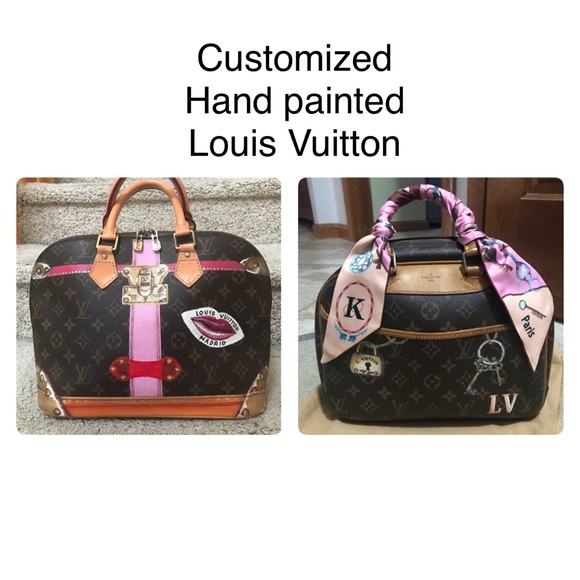 947213e0bc49 Louis Vuitton Bags | Lv Mono Customized Do Not Buy | Poshmark